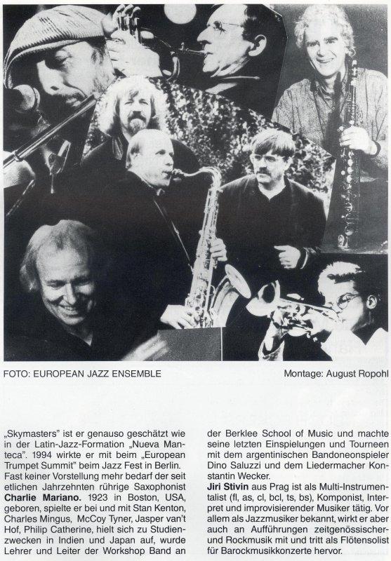 Euro Jazz Ensemble 3