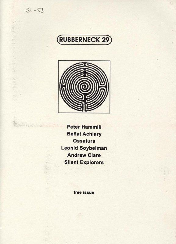 Rubberneck 29 1